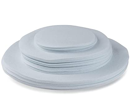 Felt Plate China Dividers Protectors Separators Storage White Extra Large Thick and Premium Soft Set Of  sc 1 st  Amazon.com & Amazon.com: Felt Plate China Dividers Protectors Separators Storage ...