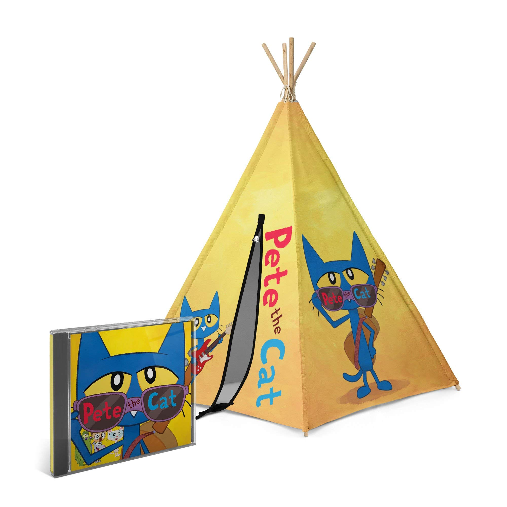Pete the Cat CD + Teepee Bundle by Pete the Cat (Image #1)