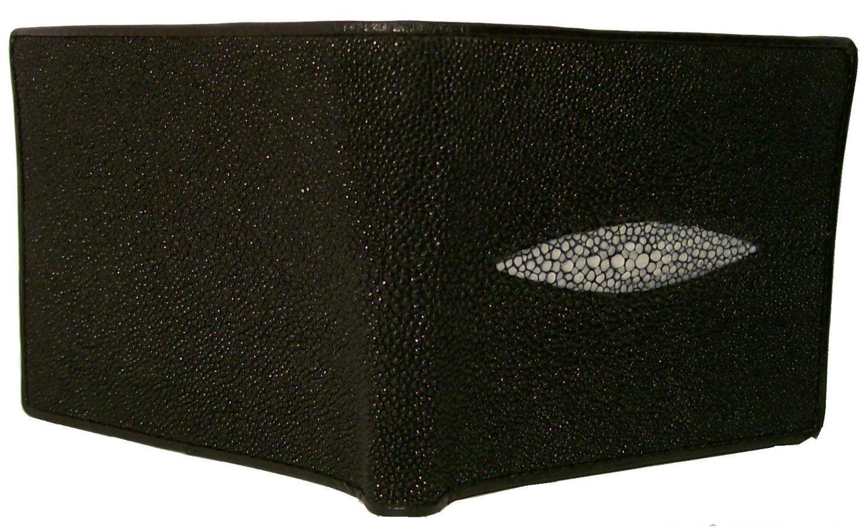 Black Authentic Thailand Stingray Men's Bi-fold Wallet