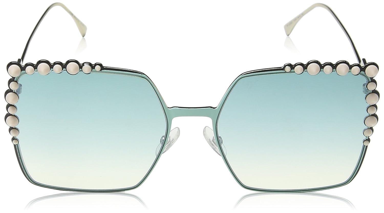 Fendi FF 0259/S Je Gafas de Sol, Green, 60 para Mujer ...
