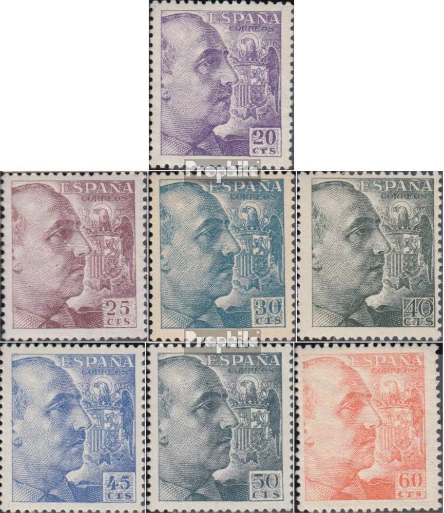 Prophila Collection España 844C-850C 1939 Franco (Sellos para los coleccionistas): Amazon.es: Juguetes y juegos