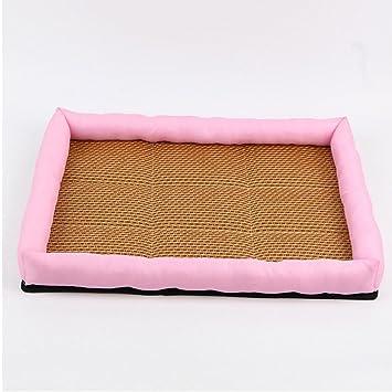 YUSHI Cama para Mascotas colchón de Verano Perrera ventilación Fresca, XL: Amazon.es: Deportes y aire libre