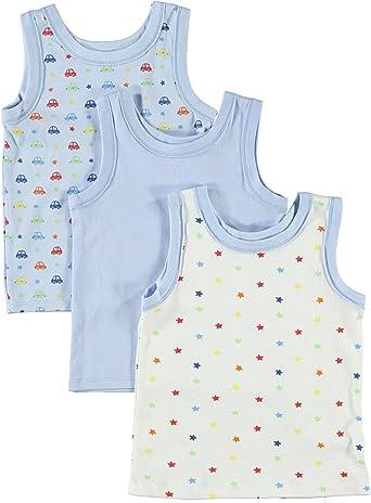 5T Underwear Undershirt Baby Toddler Boys Tank Top 4 Pack Shirt 9 12 24 Months