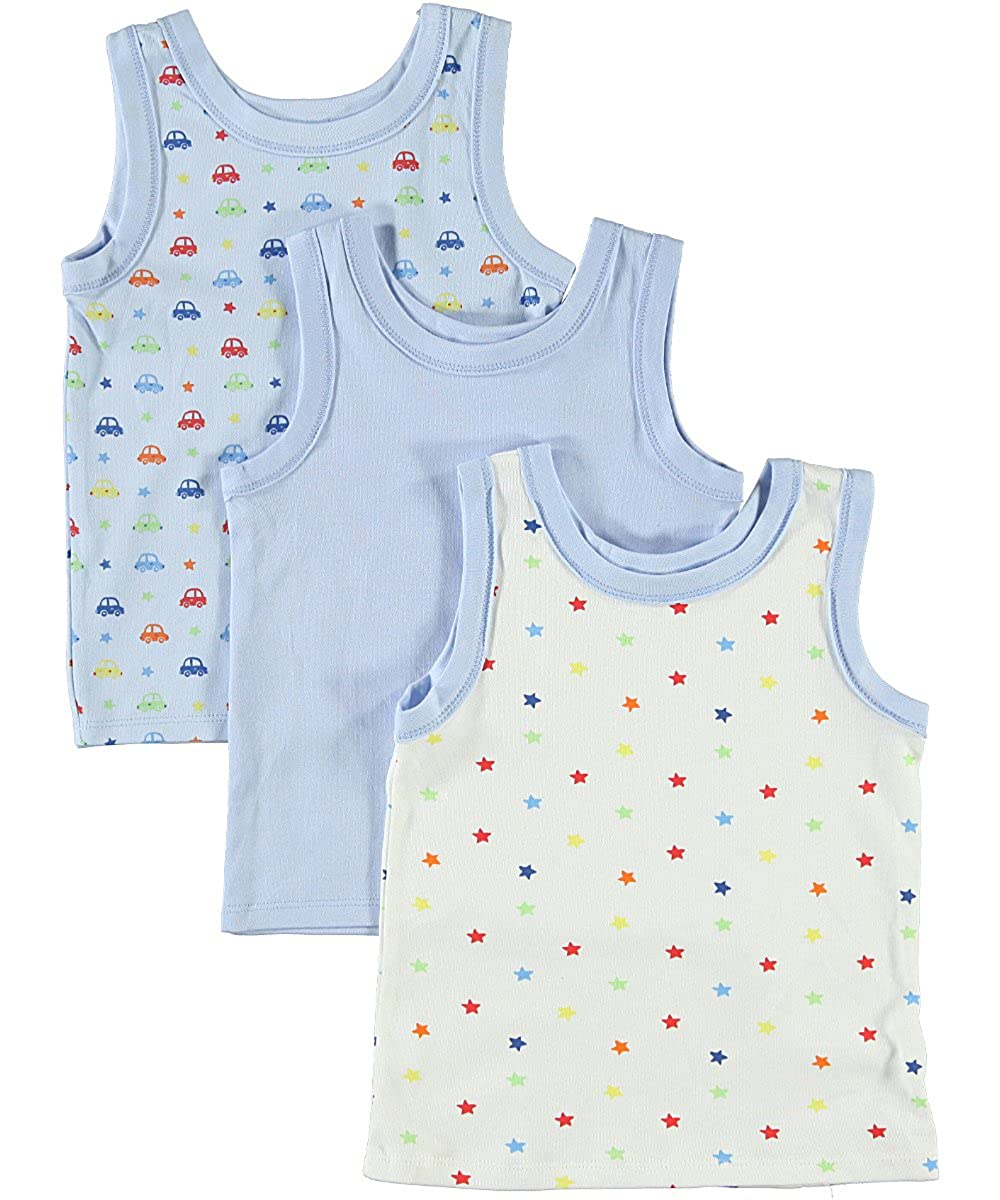 Big Oshi Baby 3 Pack Sleeveless Undershirt Tank PLK-804