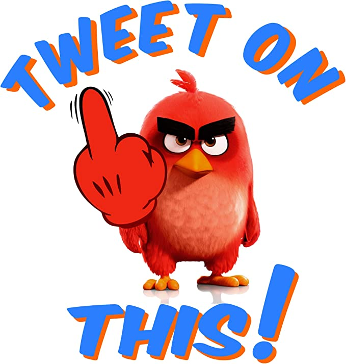 Bird Fabric /'Tweet Tweet/' *** 100/% Cotton *** Free postage***