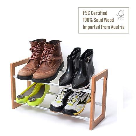 Amazon.com: INNOKA soporte organizador para 4 pares de botas ...