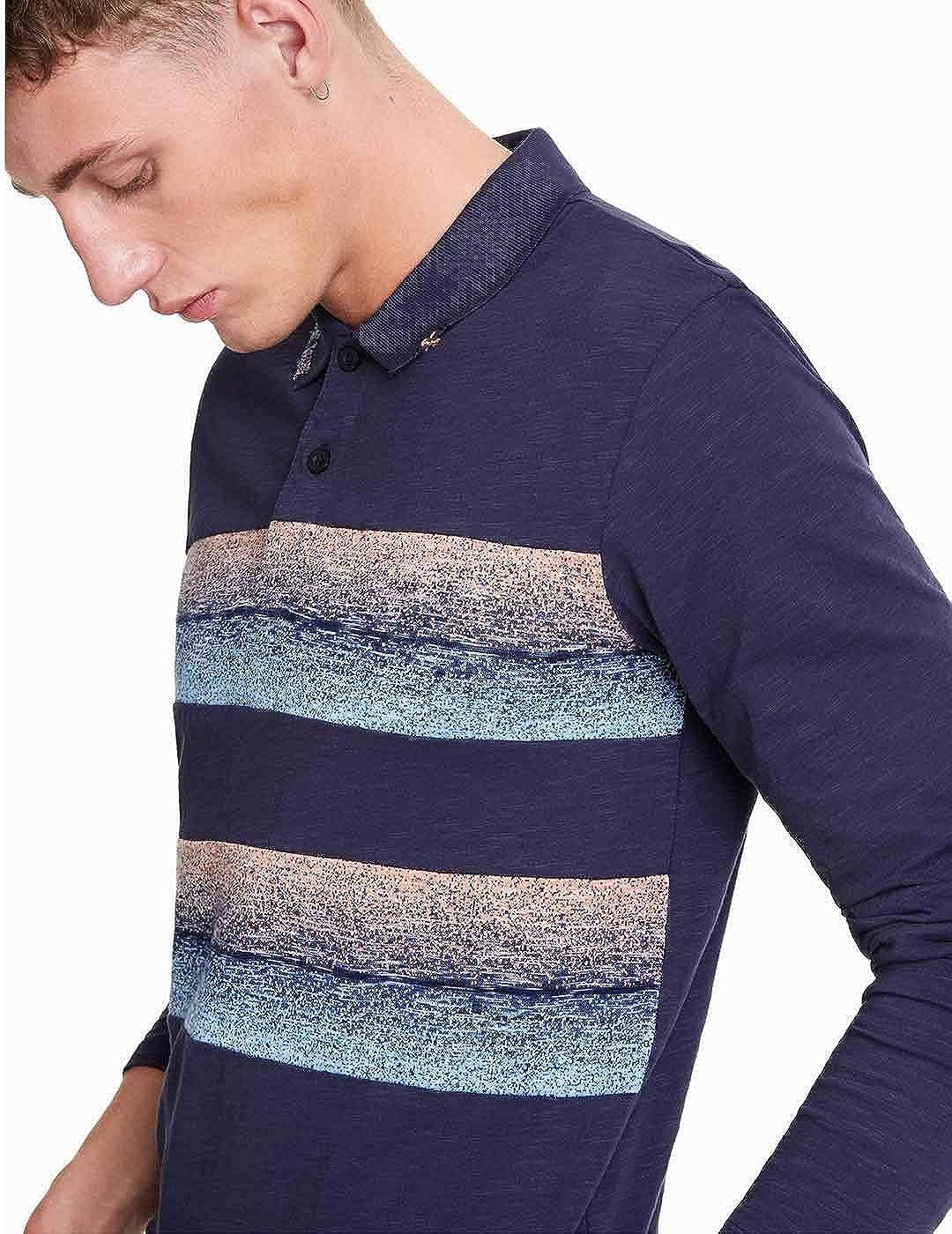 Desigual Men's Polo Shirt Blue