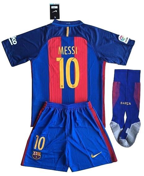 Conjunto de Barcelona (Messi, n.º 10) con camiseta + ...