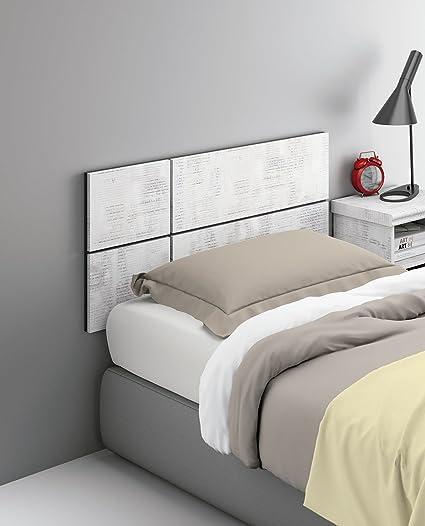 Cabezal o cabecero para cama individual de 90 o 105 de melamina