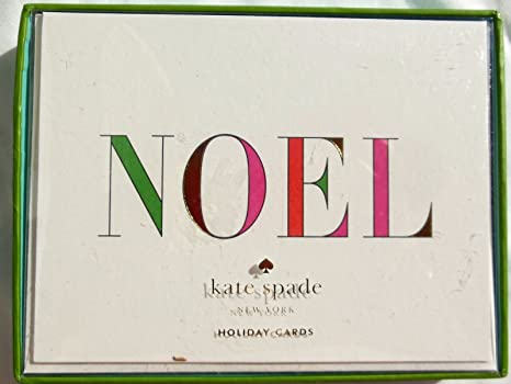 Amazon kate spade new york noel holiday greeting cards box kate spade new york noel holiday greeting cards box of 10 m4hsunfo
