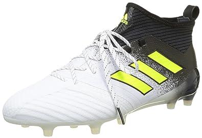 buy popular 0784e 94ed4 adidas Originals Ace 17.1 FG Chaussures de Football Homme, Blanc (Footwear  White Solar