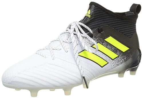 hot sale online e6ac7 fbf57 adidas Ace 17.1 Fg, Scarpe da Calcio Uomo, Bianco (Footwear White Solar