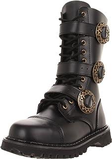 18f8194509b868 Demonia Herren Defiant-303 Klassische Stiefel Schwarz 46 EU  Amazon ...