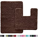 Gorilla Grip Original Shaggy Chenille 2 Piece Bath