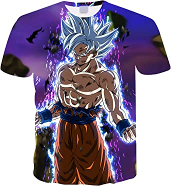 Camiseta Dragon Ball Niño 3D Impresión Hombres Mujer Camisetas y Camisas Unisex Deportivas Camisetas de Manga Corta Dibujos Animados de Fans Streetwear T Shirt Camisetas de Verano: Amazon.es: Ropa y accesorios