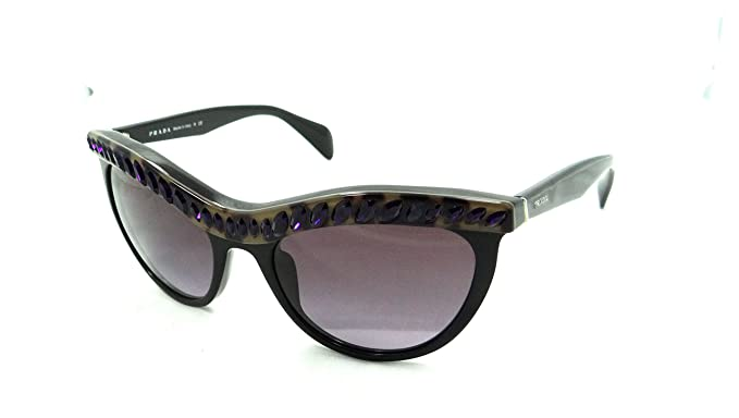 652b3bf31b464 Amazon.com  Prada Sunglasses Spr 04p Ma5-5f1 54x19 Havana Shiny ...