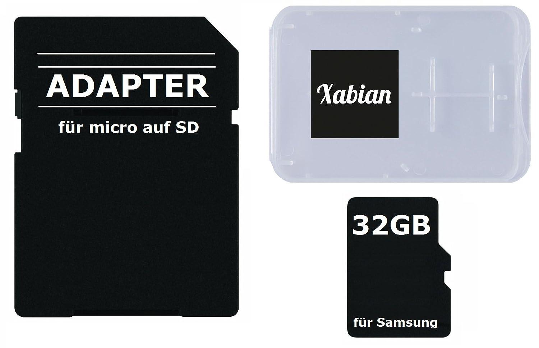 Samsung A5 Sd Karte Einlegen.32gb Microsd Sdhc Speicherkarte Für Samsung Smartphones Und Tablets Mit Sd Adapter Und Memorycard Box