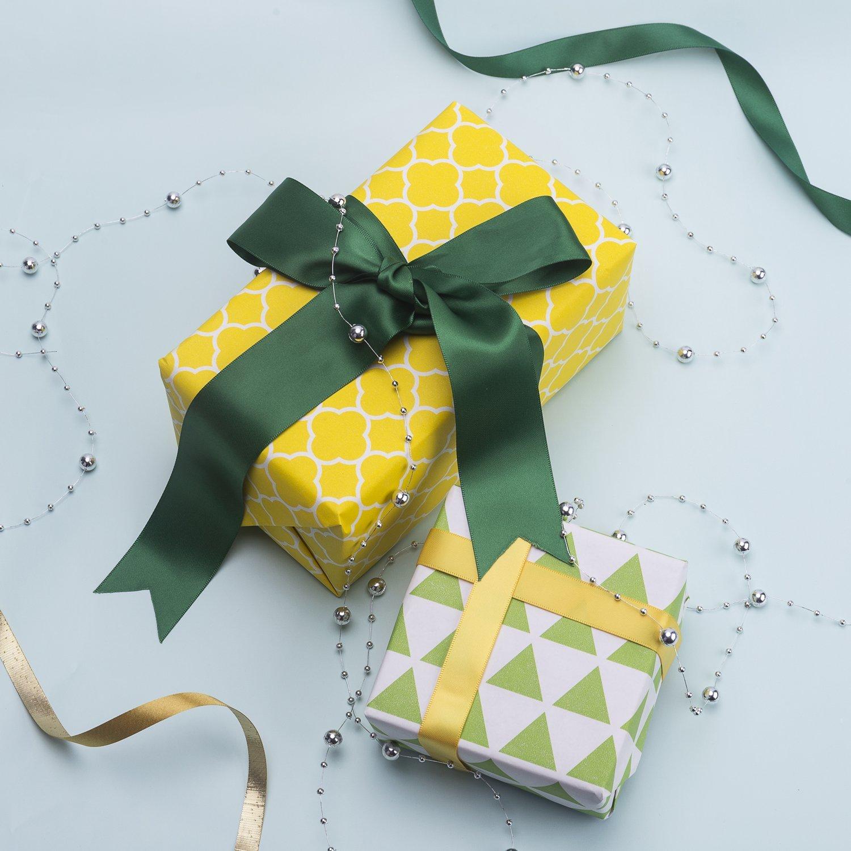 San Valent/ín RUSPEPA Papel Para Envolver Regalos Kraft Navidad-6 Rollo-76 Cm X 305 Cm Por Rollo-Multi Papel De Envolver Impreso En Varios Colores Para Cumplea/ños