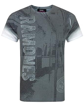 New /& Official Subway Sublimation Mens Short Sleeve T-Shirt Ramones