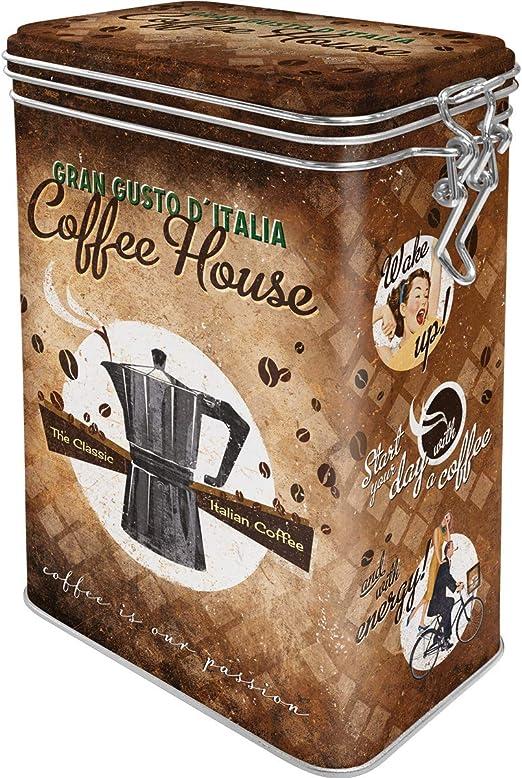 Aroma Lata Nostalgic-Art 31103/Coffee y Chocolate Coffee House