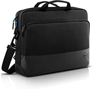 Dell Pro Briefcase 15 (PO1520C), Made with an Earth-Friendly Solution-Dyeing Process That generates 90% Less Wastewater, 62% Less CO2 Emissions, and uses 29% Less Energy Than Traditional processes