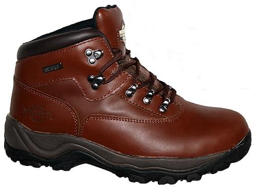 ca8e8b4bd08 Northwest Territory Inuvik Leather Hiking Boots Waterproof Trekking Mens  Walking Shoe (13