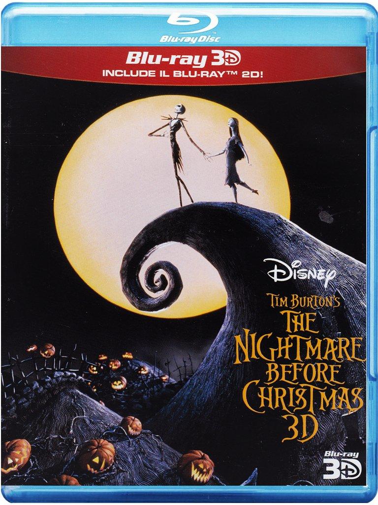amazoncom the nightmare before christmas 3d blu rayblu ray 3d italian edition movies tv - Nightmare Before Christmas 3d