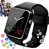 Burxoe Smart Watch,Smartwatch for Android Phones,Smart Watches Touchscreen with Camera Bluetooth Watch Phone with Sim…