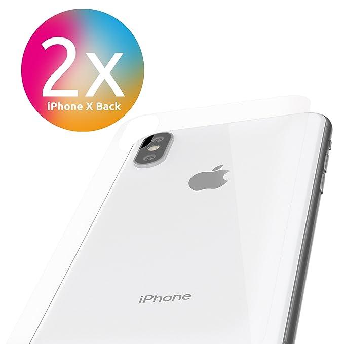 1 opinioni per Apple iPhone X Pellicola Protettiva Retro [2pezzi] Alla protezione dello