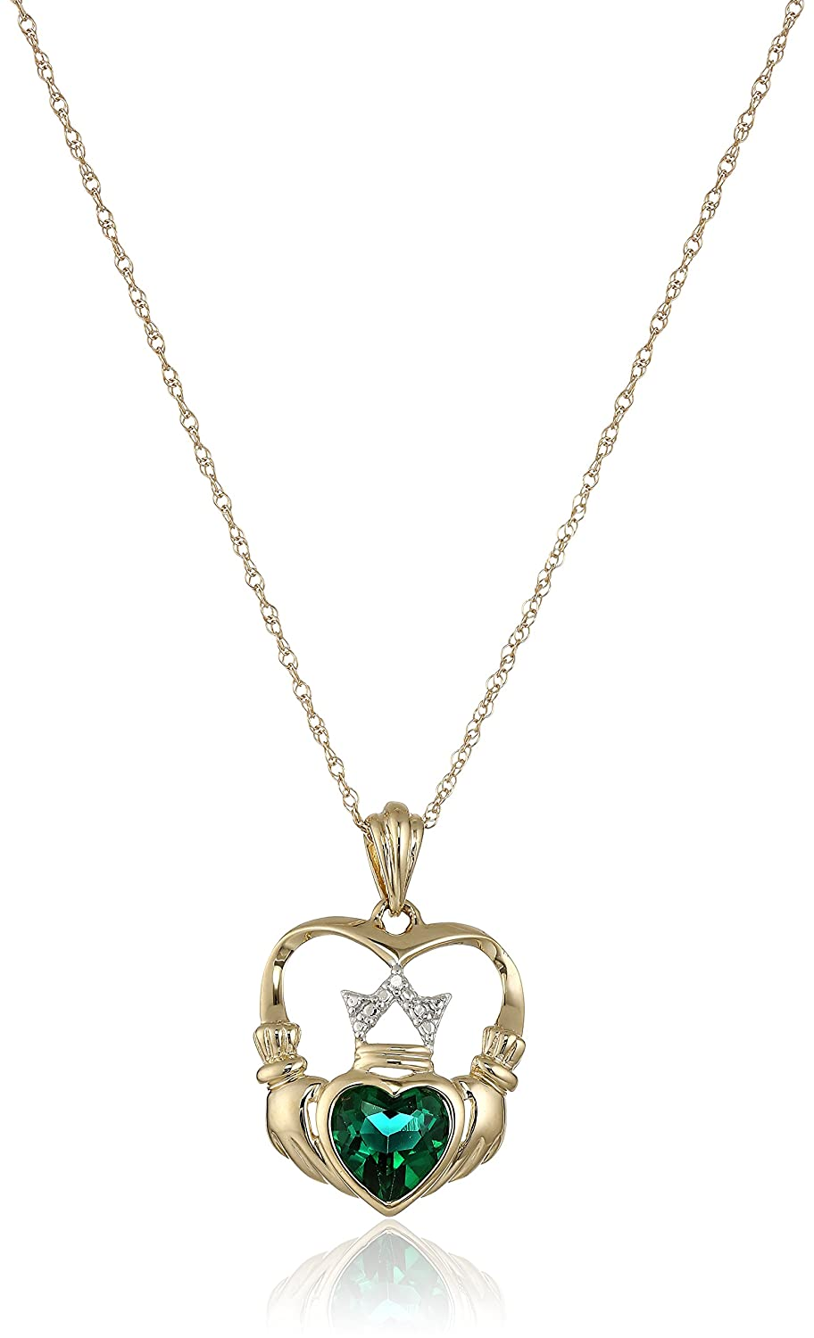 claddagh cross necklace crosses celtic claddadgh