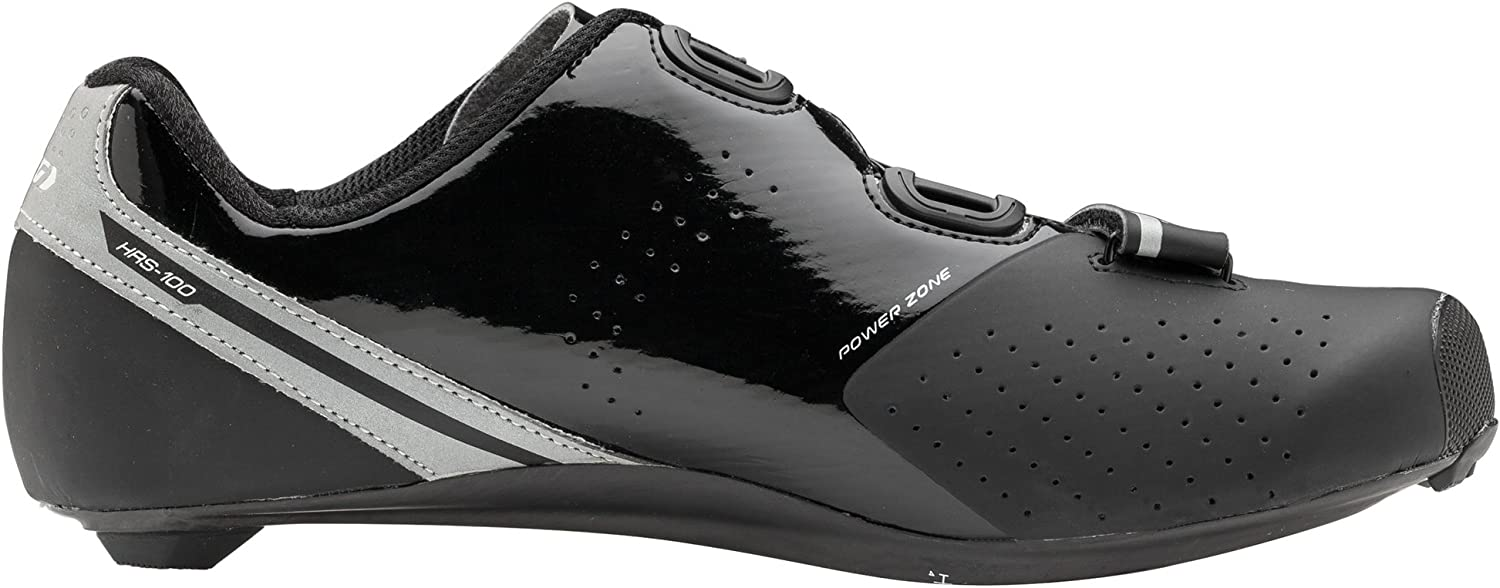Louis Garneau Men's Carbon LS-100 2 Road Bike Clip-in Cycling Shoes with BOA Adjustment System Black