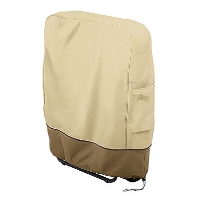Classic Accessories Veranda Water-Resistant 27 Inch Zero Gravity Folding Chairs Cover : Garden & Outdoor