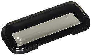 EnrockMarine EMCBK1 Universal in Dash Water Resistant Waterproof Tinted Radio Shield Receiver Cover (Black Base)