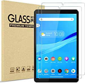 [2 Pack] ProCase Screen Protector for Lenovo Tab M8 HD/Smart Tab M8 / Tab M8 FHD 2019, Tempered Glass Screen Film Guard for Lenovo Tab M8 TB-8505F TB-8505X TB-8505FS TB-8705F TB-8705N
