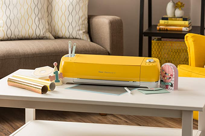Cricut Explore Air 2 Sunflower - Plotter Creativo - Kreativplotter - Plotter de Corte - Enchufe EU: Amazon.es: Hogar