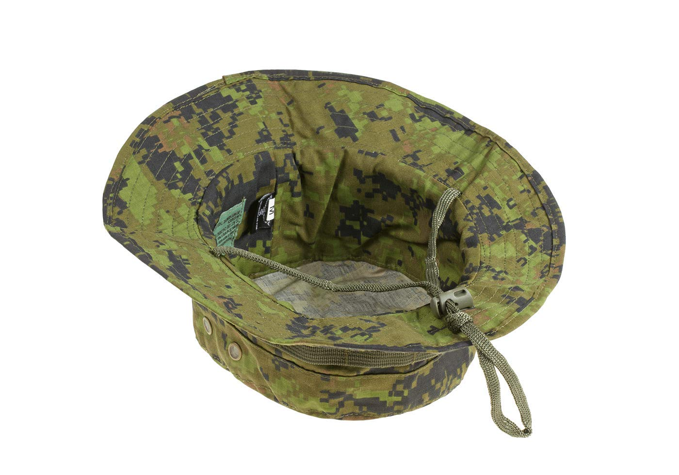 Invader Gear Military Style Ripstop Boonie Hat ATP Black Night Camo Cap Airsoft