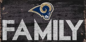 Fan Creations Los Angeles Rams Family Sign, Multi