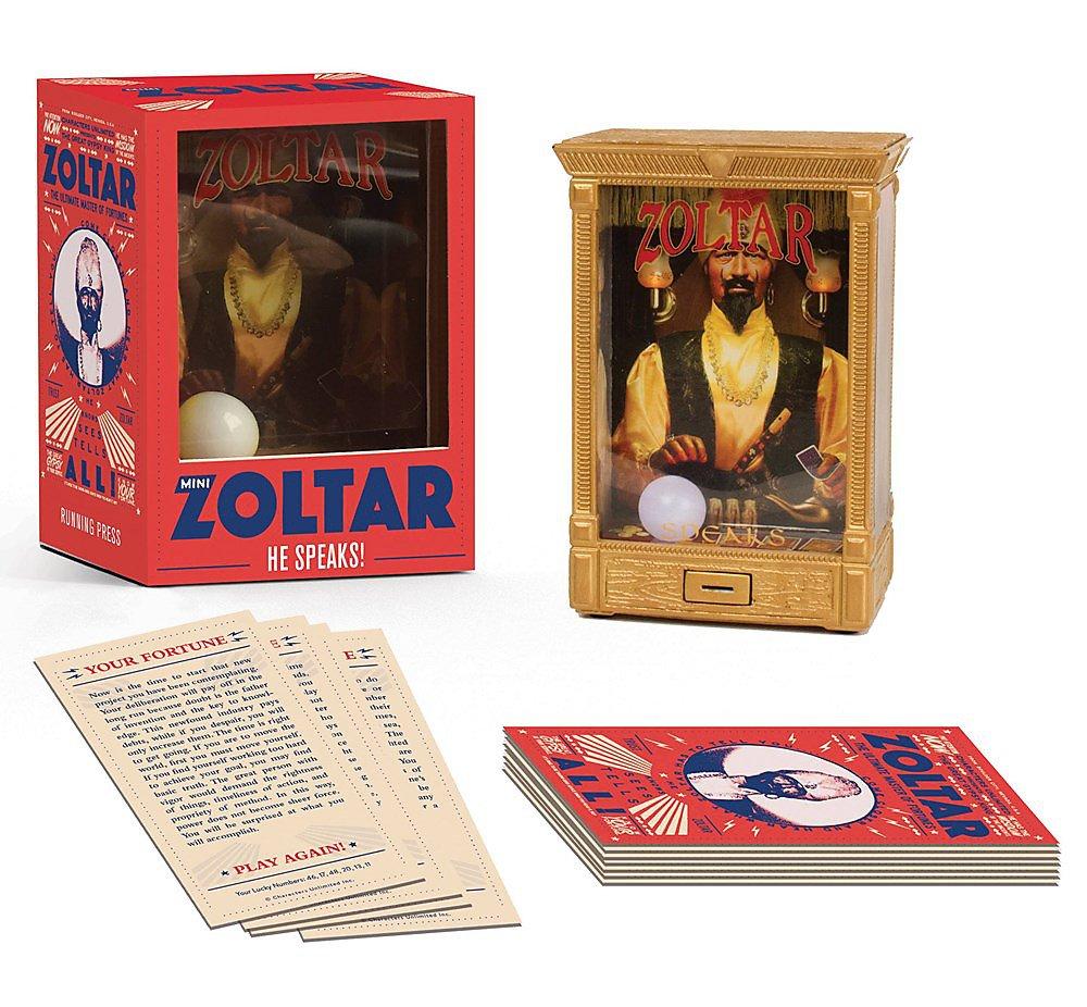 Mini Zoltar: He Speaks! (Miniature Editions)
