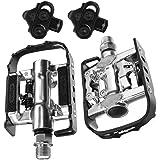 Wellgo Multi-Function Mountain Bike Pedals Shimano SPD Compatible