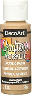 product image for DecoArt DCA13-3 Crafter's Acrylic Paint, 2-Ounce, Country Maple