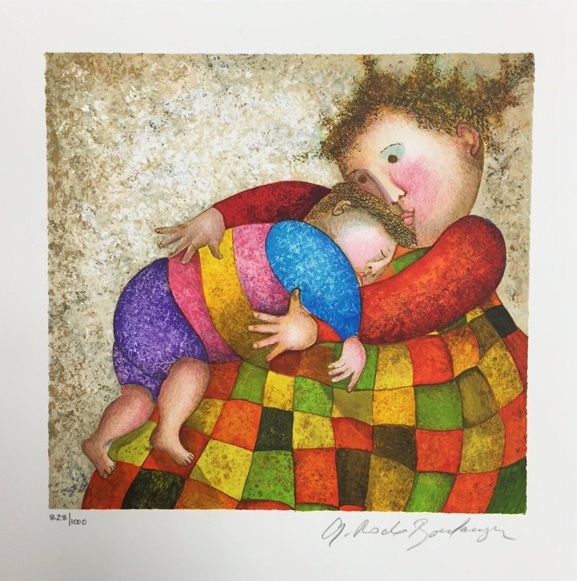 """Graciela Rodo Boulanger/""""Tour de France/"""" lithograph"""