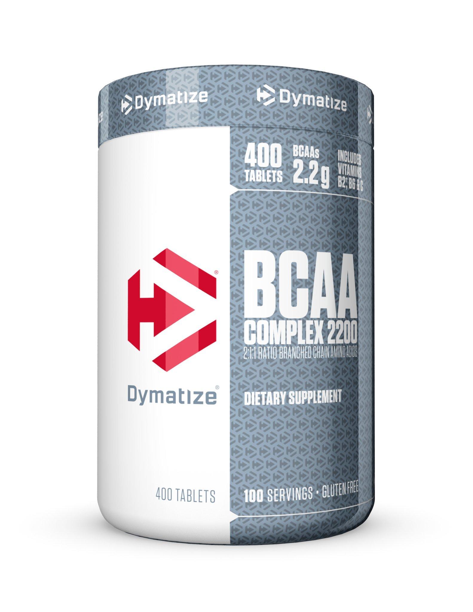 Dymatize BCAA Complex 2200, 400 Caplets
