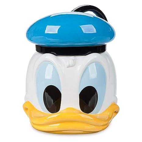 Disney Cookie Jars Amazon Com >> Amazon Com Disney Donald Duck Cookie Jar Kitchen Dining