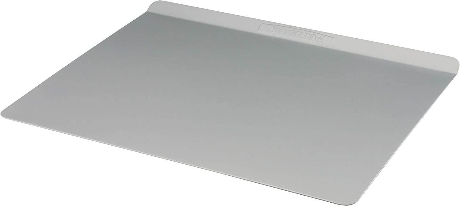 Farberware 52151 Insulated Nonstick Bakeware, Nonstick Cookie Sheet / Baking Sheet - 14 Inch x 16 Inch, Light Gray