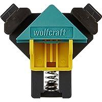 wolfcraft ES 22 Eckenspanner 3051000 Set – 2 Winkelspanner zur Fixierung von Brettern und Rahmen im 90° Winkel…