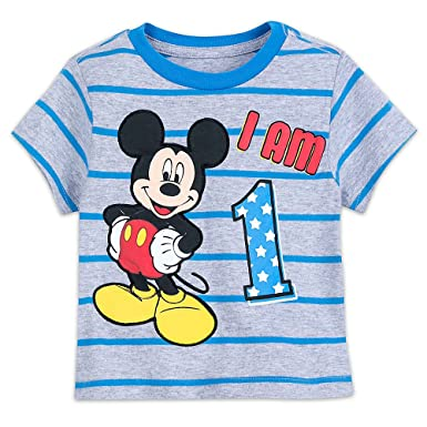15947f0f Disney Mickey Mouse ''I Am.'' Birthday T-Shirt for Boys Size 2 ...