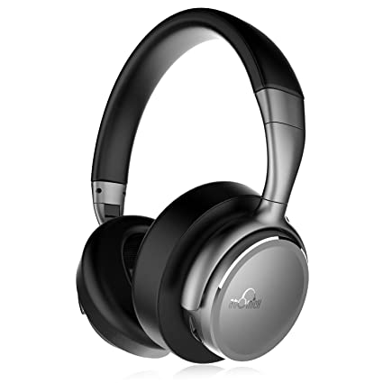 6f3c79cfdc3 Bluetooth Headphones, iDeaUSA Wireless Headphones with Mic, aptX HiFi Sound  Lightweight, CVC Noise