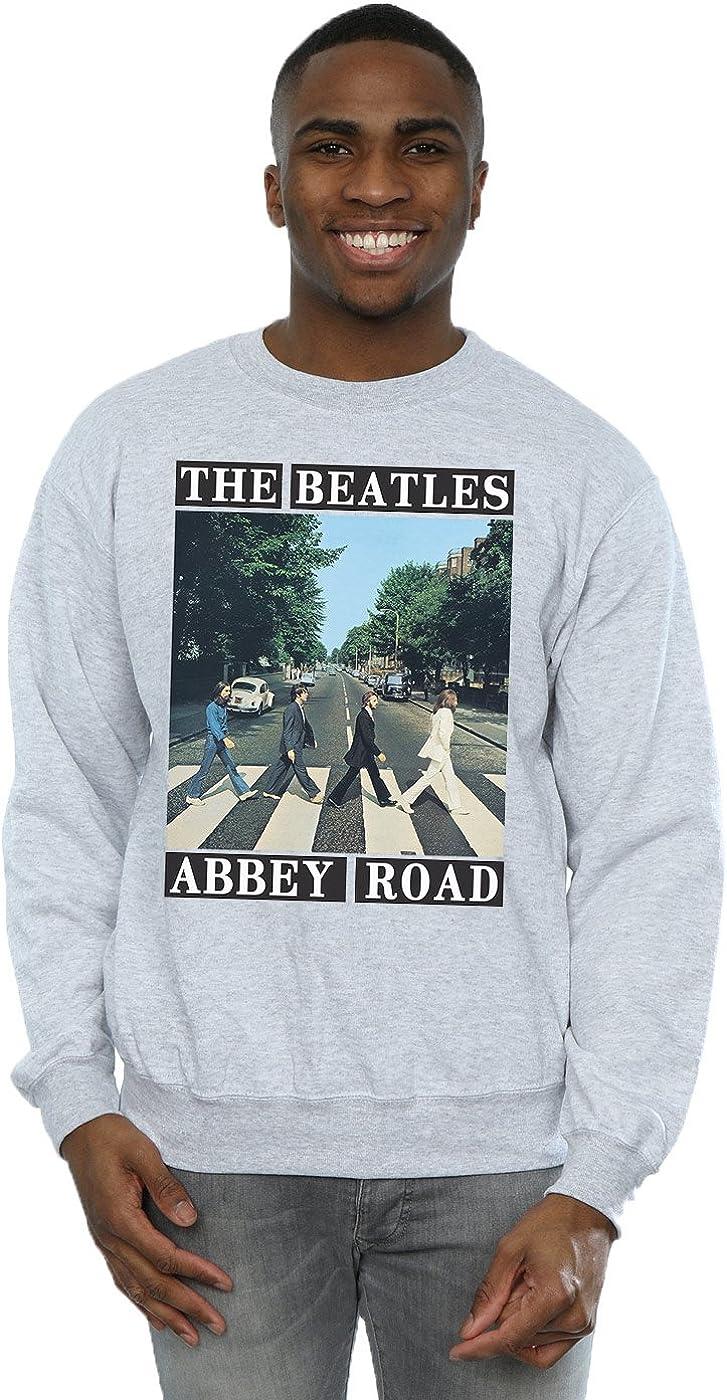 The Beatles Hombre Abbey Road Camisa De Entrenamiento