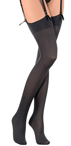 7c8de0234 Trasparenze Sandra 70 Denier Soft Luxury Opaque Stockings at Amazon ...