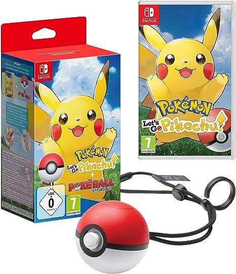 Pokemon LetS Go Pikachu + Poke Ball Plus: Nintendo: Amazon.es: Videojuegos